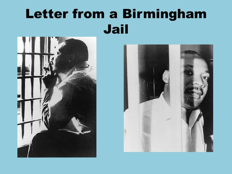 a letter from a birmingham jail independence independence ppt 20326