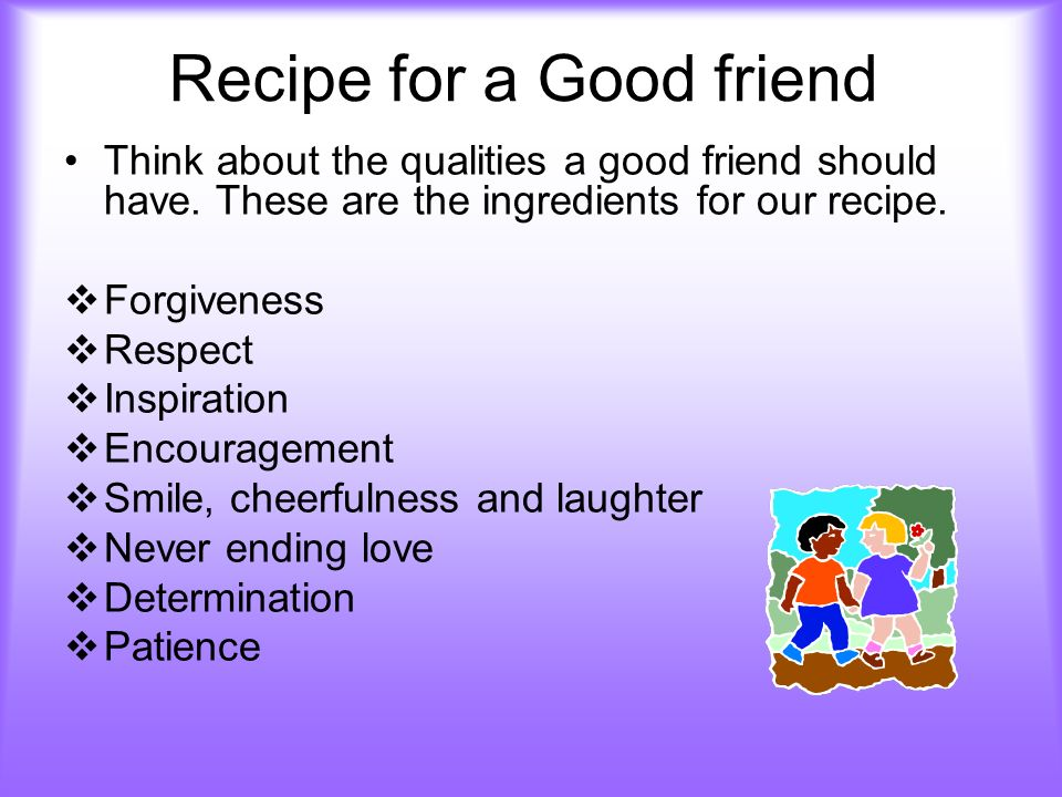 100 qualities of a good friend