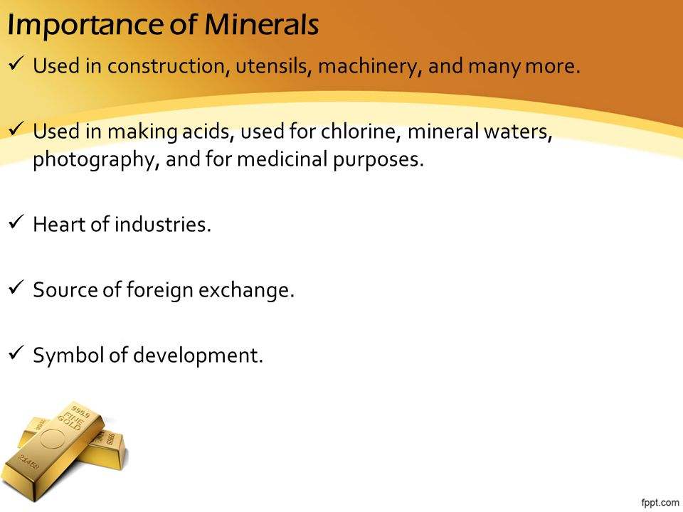 Mineral Resources of Karnataka - ppt video online download
