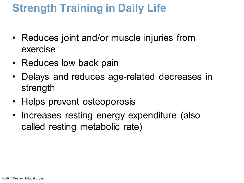 strength training in daily life
