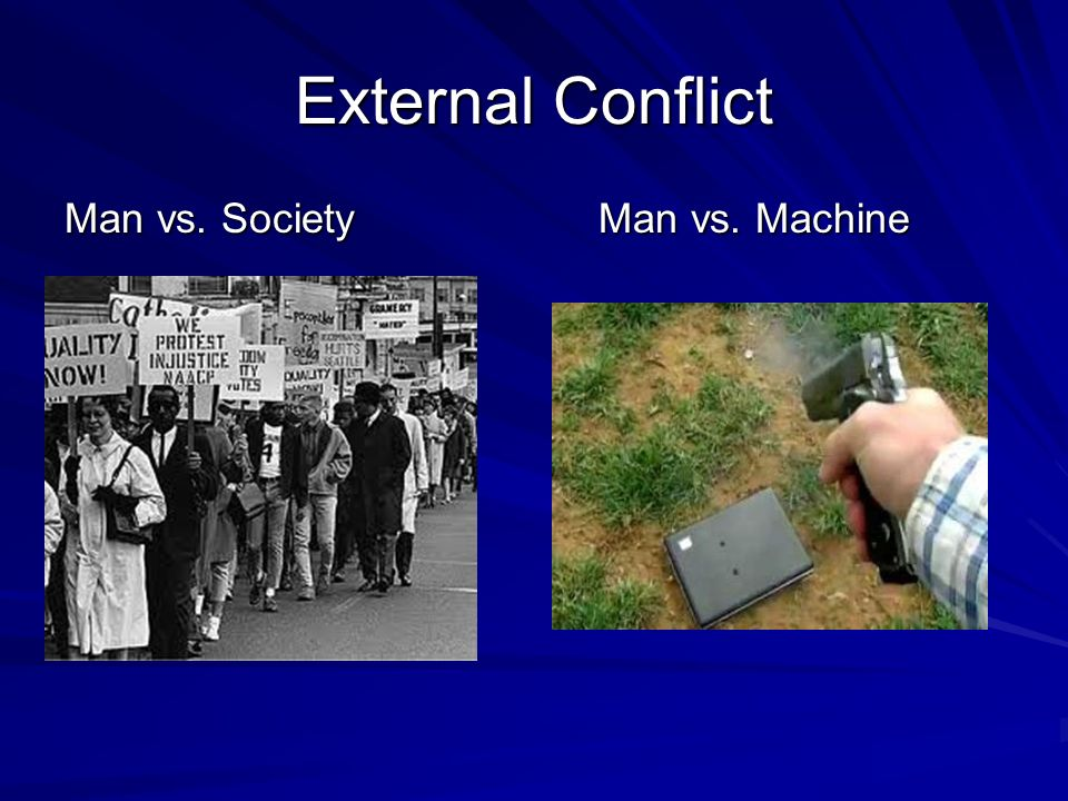 man vs man conflict in things fall apart