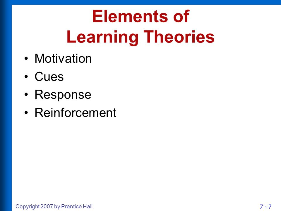 Chapter 7 Consumer Learning - ppt video online download