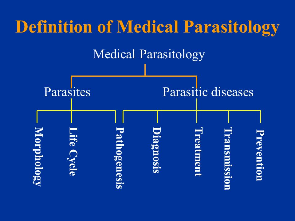 GENERAL PARASITOLOGY (An introduction) - ppt download