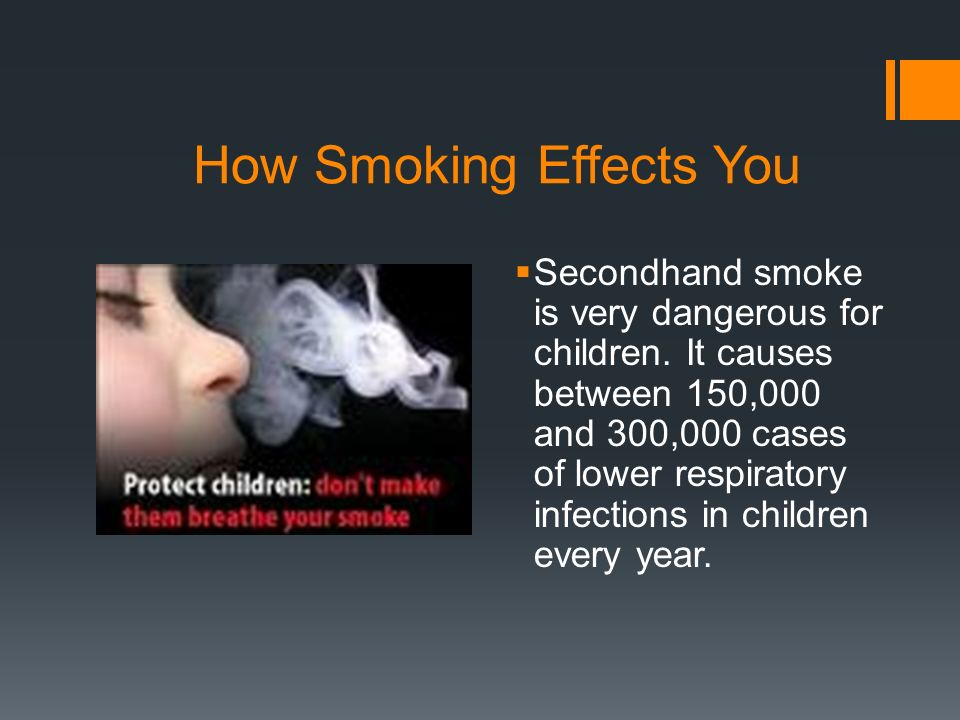 How Smoking Effects You