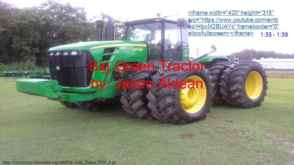 big green tractor jason aldean download