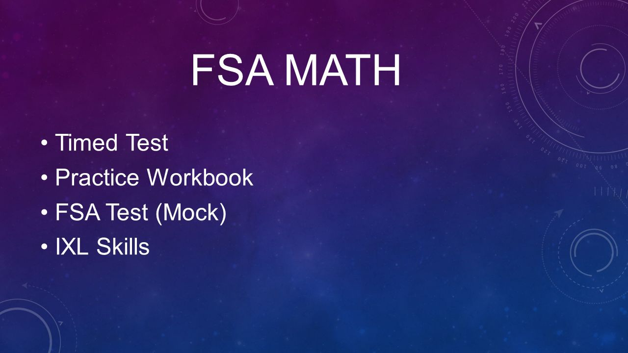 F.S.A. Night 5th Grade Team. - ppt video online download