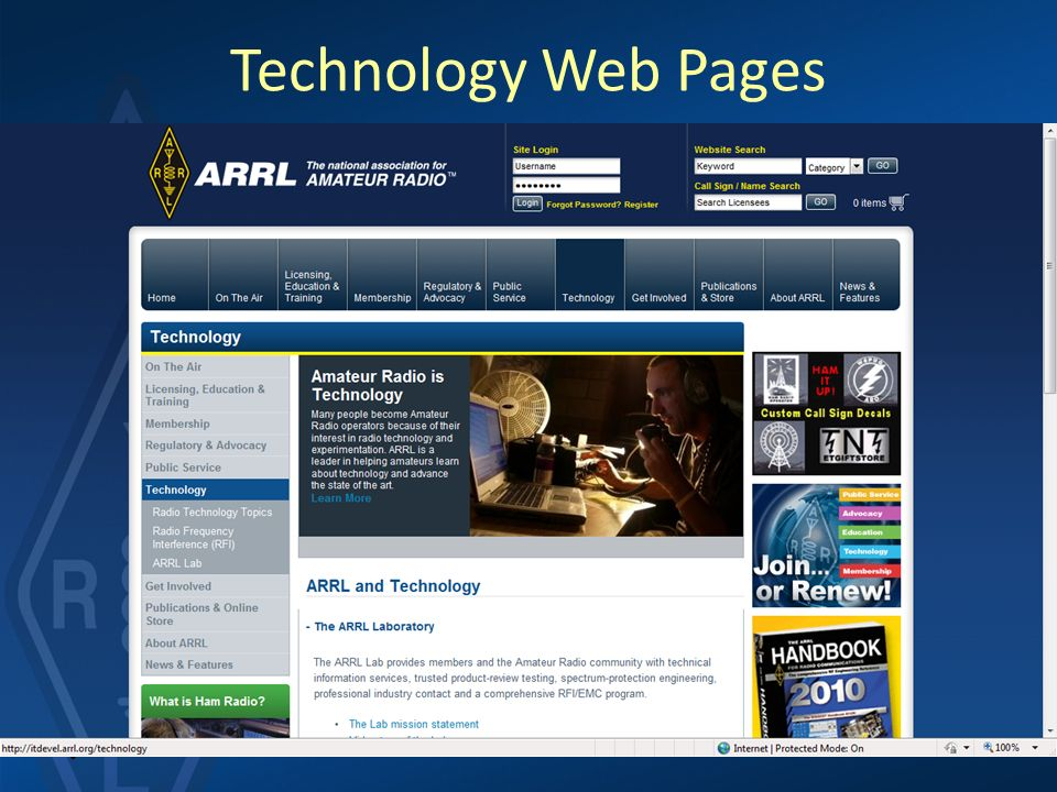 ARRL Involvement in the History of HF Communication in the